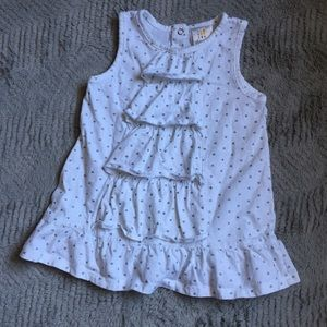 Absorba Other - Silver Hearts Dress