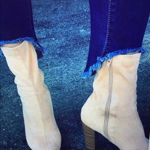 enjean Denim - 🔥24hr sale must have - Fringed bottom denim jeans