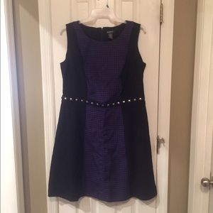 Glamour & Co. Dresses & Skirts - NWOT Glamour Black and purple size 16 W Dress