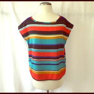 Multi-color Stripe Top