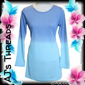 Tops - Ombre Blue Tunic