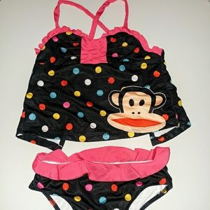 Paul Frank Other - Girls Paul Frank two piece swim suit size XS