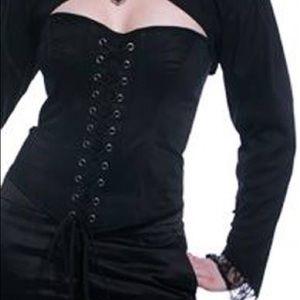 lip service Tops - Lip service blacklist core corset XS lace goth