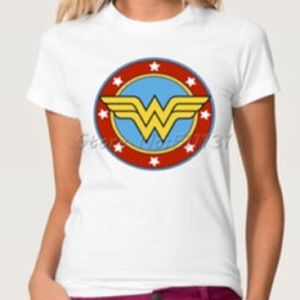 DC Comics WW Tshirt (WHITE)