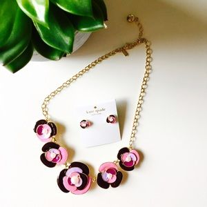 🍉SUMMER SALE🍉Kate Spade enamel flower necklace