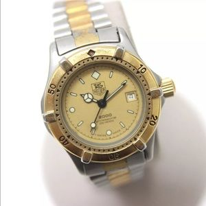 Tag Heuer Accessories - AUTHENTIC TAG HEUER 2000 SERIES WOMEN'S WATCH