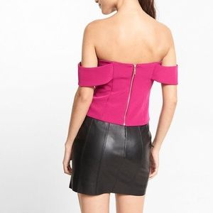 Express Tops - BNWT Express Fitted Off the shoulder top