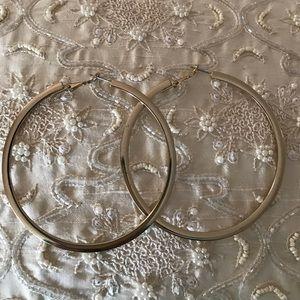 Bebe Jewelry - Large hoop earrings