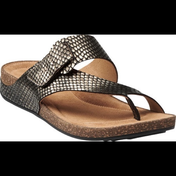6c75964a09ea Clarks Shoes - CLARKS Artisan Perri Coast metallic Summer sandal