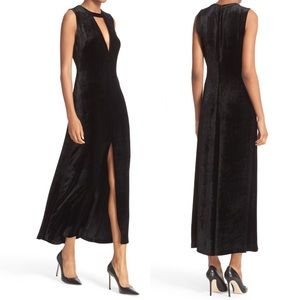 A.L.C. Dresses & Skirts - NWT A.L.C. Black Velvet Cutout Dress