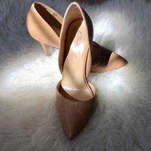 Breckelles Shoes - nude heels