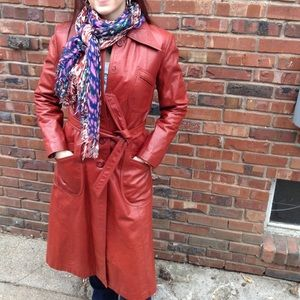 Fabulous Vintage 1970s Brooklyn leather stunner!