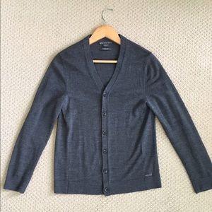 A/X Armani Exchange Other - SALE EUC 100% Merino Wool Armani Exchange Cardigan