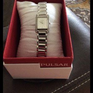 PULSAR Accessories - NET Pulsar Women's Stainless Steel Watch
