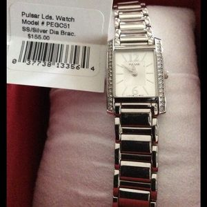 PULSAR Accessories - NET Pulsar Women's Stainless Steel Watch