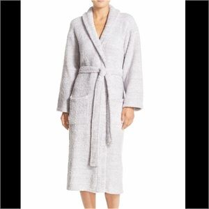 Barefoot Dreams Other - Barefoot Dreams CozyChic Robe Dove/ White Heather