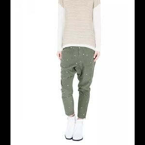 sass & bide Pants - Sass & Bide Women's Green Remix Future pants