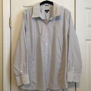 Talbots Tops - Talbots Perfect Long-Sleeve Button Down Shirt