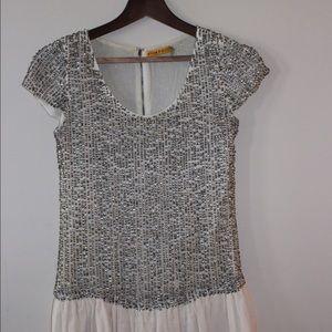 Alice + Olivia Dresses & Skirts - Alice + Olivia Cream Sequin Dress