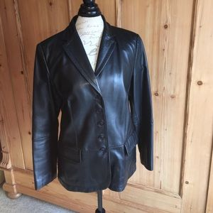 Gerry Weber Jackets & Blazers - Gerry Weber women's leather jacket