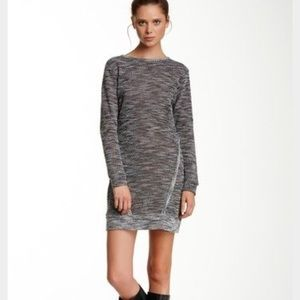 Loveappella Dresses & Skirts - Loveappella long sleeve terry sweater dress