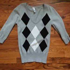 H&M Sweaters - H&M argyle sweater