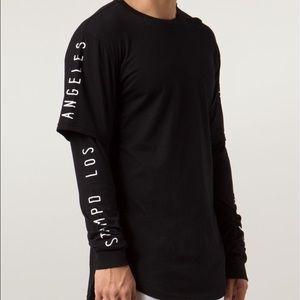 Stampd Other - Stampd Long Sleeve Black Slogan T-Shirt RARE
