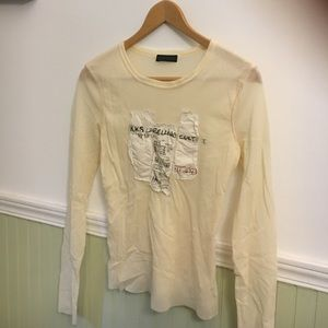 Ikks Other - IKKS sheer fabric tee size S