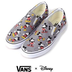 Vans Other - Disney Mickey Mouse Slip-on VANS