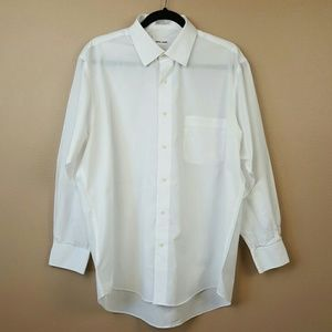 Pierre Cardin Other - PIERRE CARDIN Mens White Dressy Button Up
