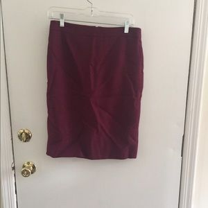 J.Crew No. 2 Pencil Skirt Size 4