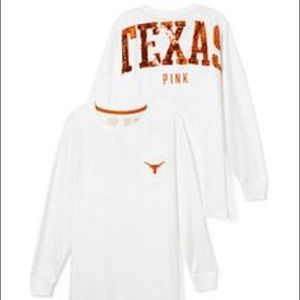 PINK Texas Long-Sleeve shirt. Perfect condition.