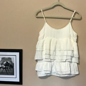 who what wear  Tops - Who What Wear ruffled top