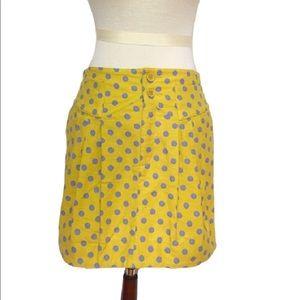 Chloe Dresses & Skirts - SEE by CHLOE $355 goldenrod polkadot skirt