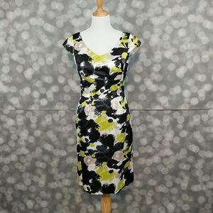 ANTONIO MELANI Dresses & Skirts - Antonio Melani Silk-Like Belted Dress