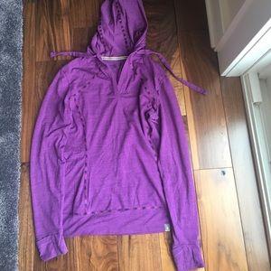 Smartwool Tops - Purple hoodie from smart wool