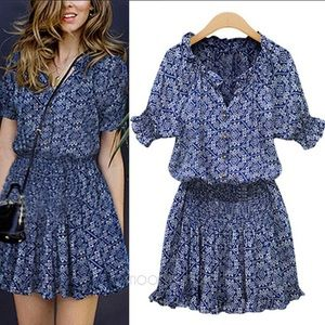 Dresses & Skirts - NWT gorgeous chiffon dress