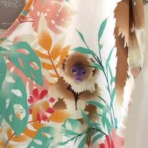 Anthropologie Tops - Corey Lynn Calter / Anthro monkey tropical top