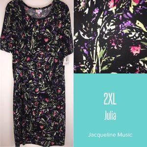 NEW LuLaRoe 2XL Julia dress/tunic