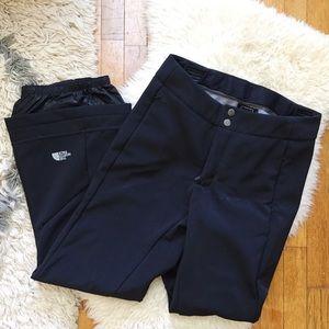 North Face Pants - Like New North Face Black Ski Pants