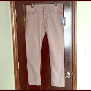 True Religion Other - True Religion Men's Geno Relaxed Slim Pant in Gray