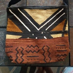 Handbags - African Mudcloth Tote Bag