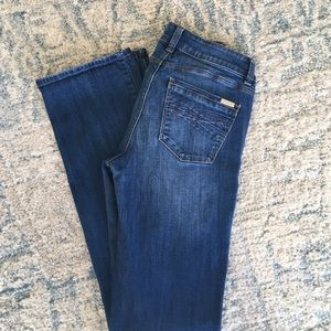 White House Black Market Denim - WHBM BOOT LEG JEANS SIZE 2
