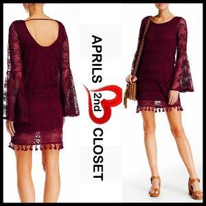 Fire Los Angeles Dresses & Skirts - ❗️1-HOUR SALE❗️CROCHET LACE DRESS
