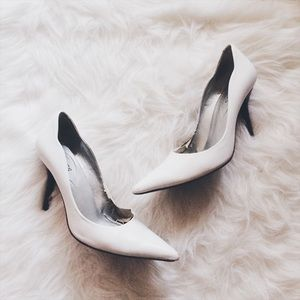 Guess Shoes - • Guess • White Heels