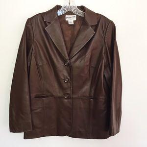 Pendleton Jackets & Blazers - Vintage Pendleton Leather Jacket