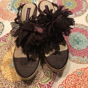 Dollhouse Shoes - Dollhouse brown shoes sz 10