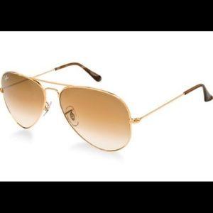 Authentic Rayban Classic Aviator Sunglasses