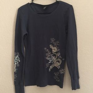 Lucky Brand Sweaters - LUCKY BRAND THERMAL SHIRT SZ L