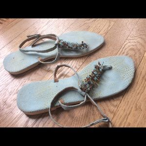 Shoes - Jeweled sandals size 8.5